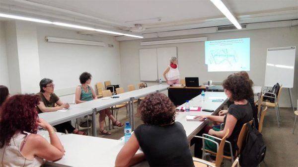 El projecte d'una Xarxa de Comunicació Feminista, en la fase d'assessorament a entitats i col·lectius