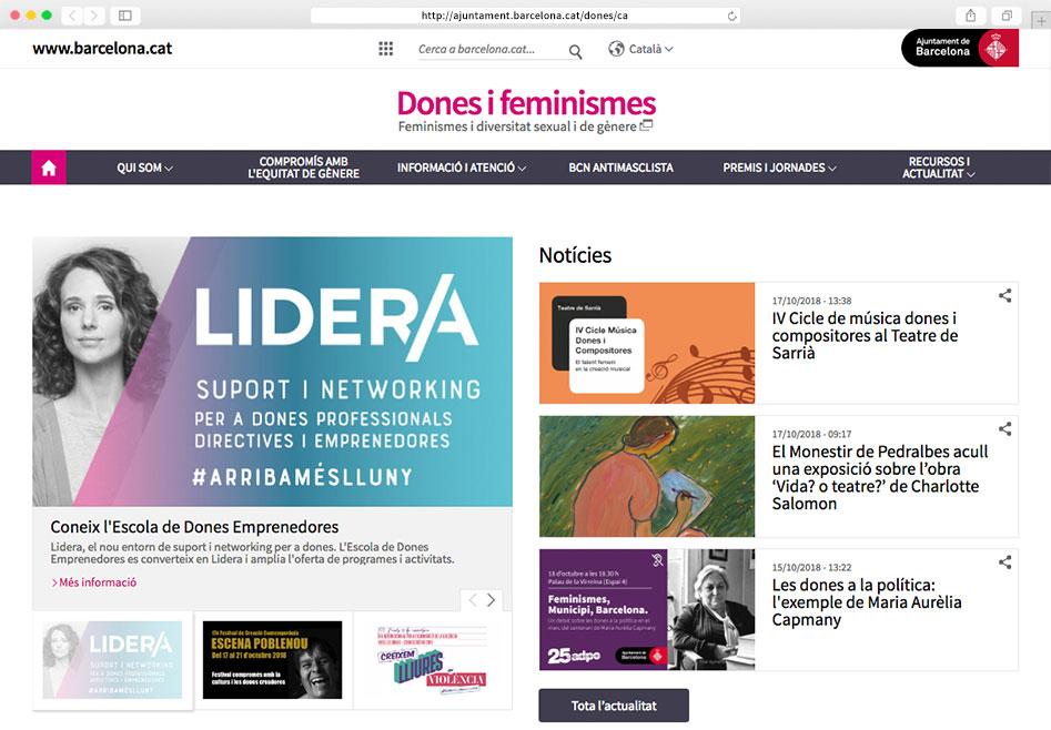Taula de pressupostos i fiscalitat amb perspectiva de gènere de l'Ajuntament de Barcelona