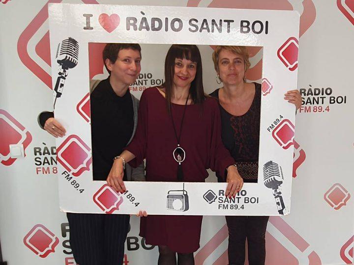 Visitamos el Espai Solidari de Ràdio Sant Boi
