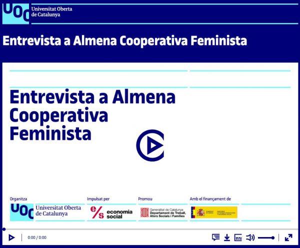 VÍDEO: Entrevista a Almena Cooperativa Feminista (UOC)