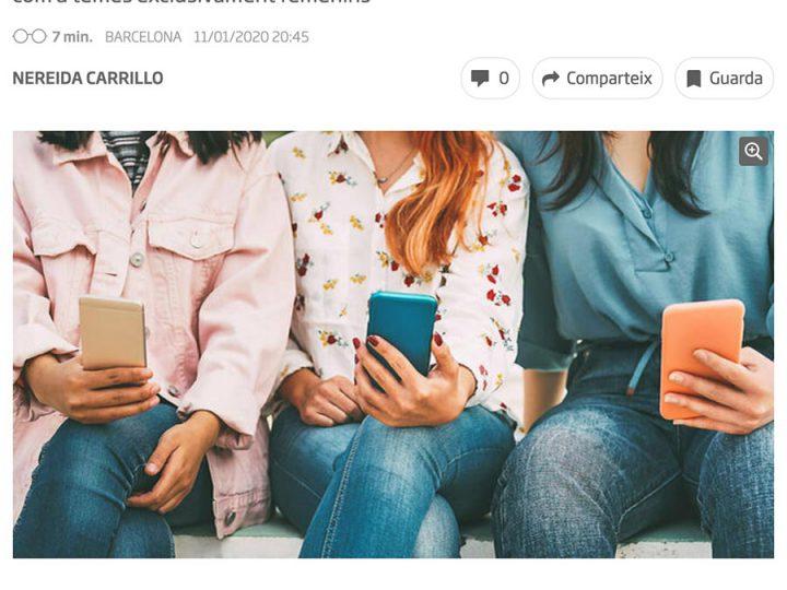 PRENSA: Ara.cat – Aplis que reforcen els estereotips