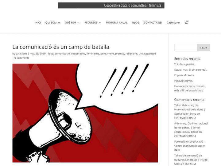 PREMSA: Candela.cat – La comunicació és un camp de batalla