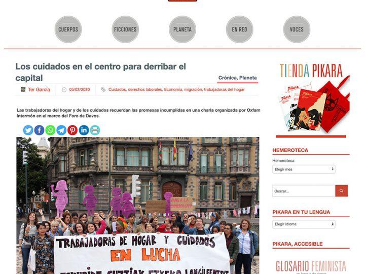 PREMSA: Los cuidados en el centro para derribar el capital