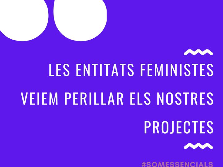 La labor de las entidades feministas, en riesgo