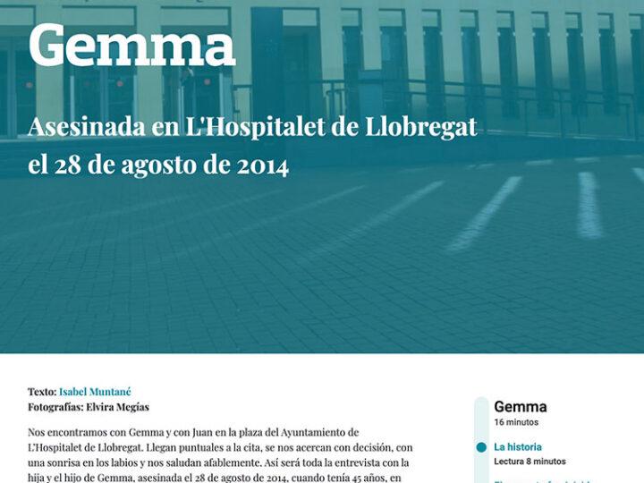 PREMSA: GEMMA – Asesinada en L'Hospitalet de Llobregat el 28 de agosto de 2014