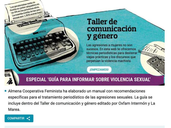 PREMSA: Guía práctica para el tratamiento informativo de la violencia sexual