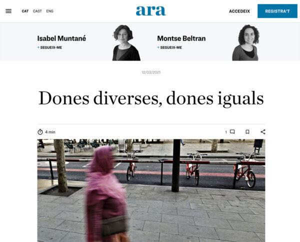Dones diverses, dones iguals