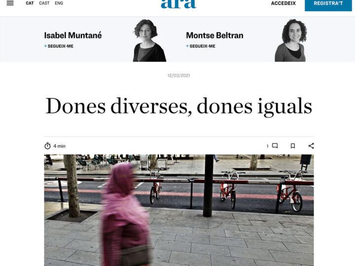 PREMSA: Dones diverses, dones iguals